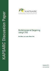 KS-1524-DP018A-Multidimensional Bargaining Using KTAB