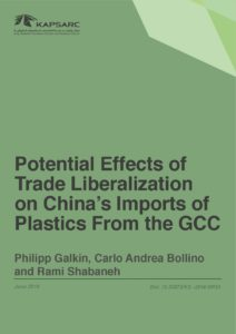 Potential Effects of Trade Liberalization on China's Imports of Plastics From the GCC