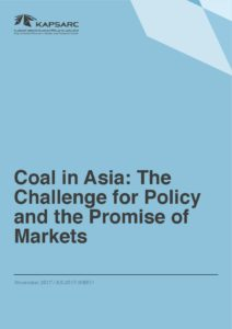 Coal in Asia: The Challenge for Policy and the Promise of Markets