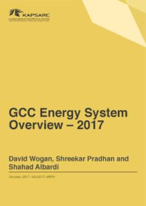 GCC Energy System Overview – 2017