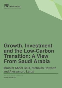 Growth, Investment and the Low-Carbon Transition: A View From Saudi Arabia