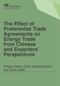 The Effect of Preferential Trade Agreements on Energy Trade from Chinese and Exporters' Perspectives