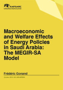 Macroeconomic and Welfare Effects of Energy Policies in Saudi Arabia: The MEGIR-SA Model