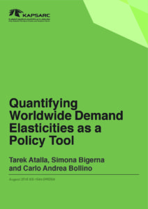Quantifying Worldwide Demand Elasticities as a Policy Tool