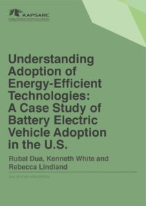 Understanding Adoption of Energy-Efficient Technologies: A Case Study of Battery Electric Vehicle Adoption in the U.S.