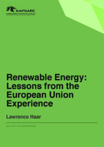 Renewable Energy: Lessons from the EU Experience