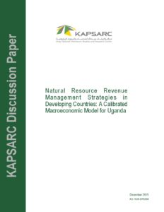 Natural Resource Revenue Management Strategies in Developing Countries: A Calibrated Macroeconomic Model for Uganda