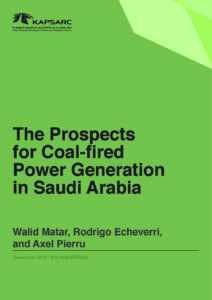 The Prospects for Coal-fired Power Generation in Saudi Arabia
