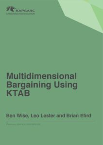 Multidimensional Bargaining Using KTAB