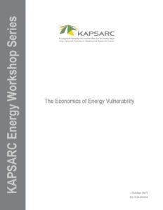 The Economics of Energy Vulnerability