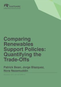 Comparing Renewables Support Policies: Quantifying the Trade-Offs