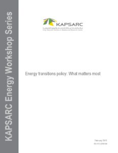 Energy transitions policy: What matters most