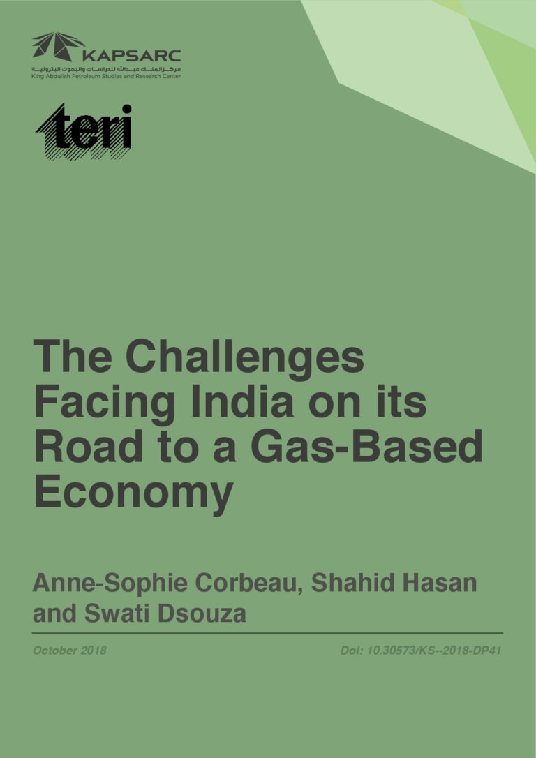 The Challenges Facing India on its Road to a Gas-Based Economy
