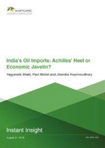 India's Oil Imports: Achilles' Heel or Economic Javelin?