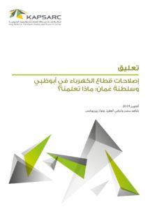 إصلاحات قطاع الكهرباء في أبوظبي وسلطنة عُمان: ماذا تعلمنا؟