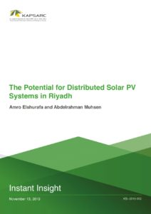 The Potential for Distributed Solar PV Systems in Riyadh