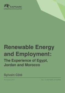 Renewable Energy and Employment: The Experience of Egypt, Jordan and Morocco