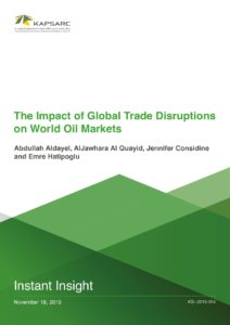 The Impact of Global Trade Disruptions on World Oil Markets