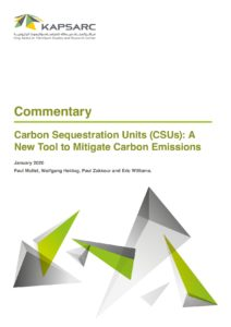 Carbon Sequestration Units (CSUs): A New Tool to Mitigate Carbon Emissions