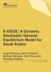 K-DSGE: A Dynamic Stochastic General Equilibrium Model for Saudi Arabia