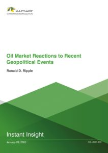 Oil Market Reactions to Recent Geopolitical Events