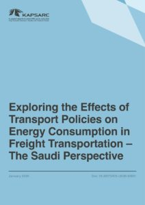 Exploring the Effects of Transport Policies on Energy Consumption in Freight Transportation – The Saudi Perspective