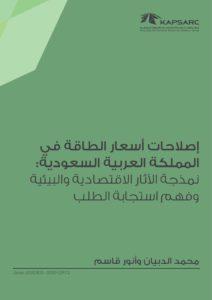 إصلاحات أسعار الطاقة في المملكة العربية السعودية: نمذجة الآثار الاقتصادية والبيئية وفهم استجابة الطلب