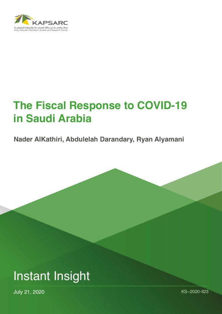 The Fiscal Response to COVID-19 in Saudi Arabia