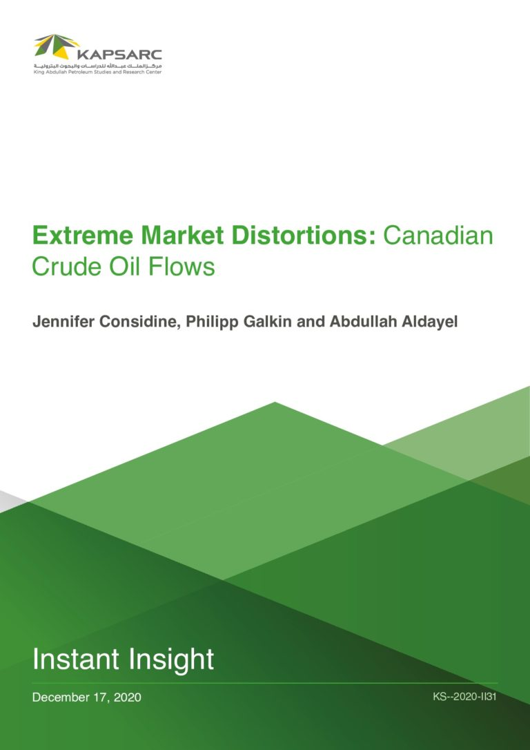 Extreme Market Distortions Canadian Crude Oil Flows