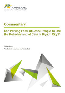 Can Parking Fees Influence People to Use the Metro Instead of Cars in Riyadh City?