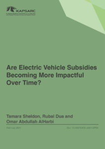 Are Electric Vehicle Subsidies Becoming More Impactful Over Time?
