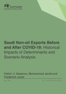 Saudi Non-oil Exports Before and After COVID-19: Historical Impacts of Determinants and Scenario Analysis